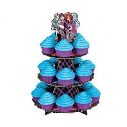 Suporte para Cupcake Monster High Festa de Aniversário Infantil Meninas