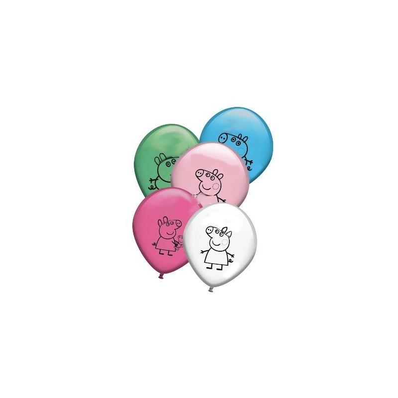 Balão Bexigas Peppa Pig 25un Coloridos Festa Infantil