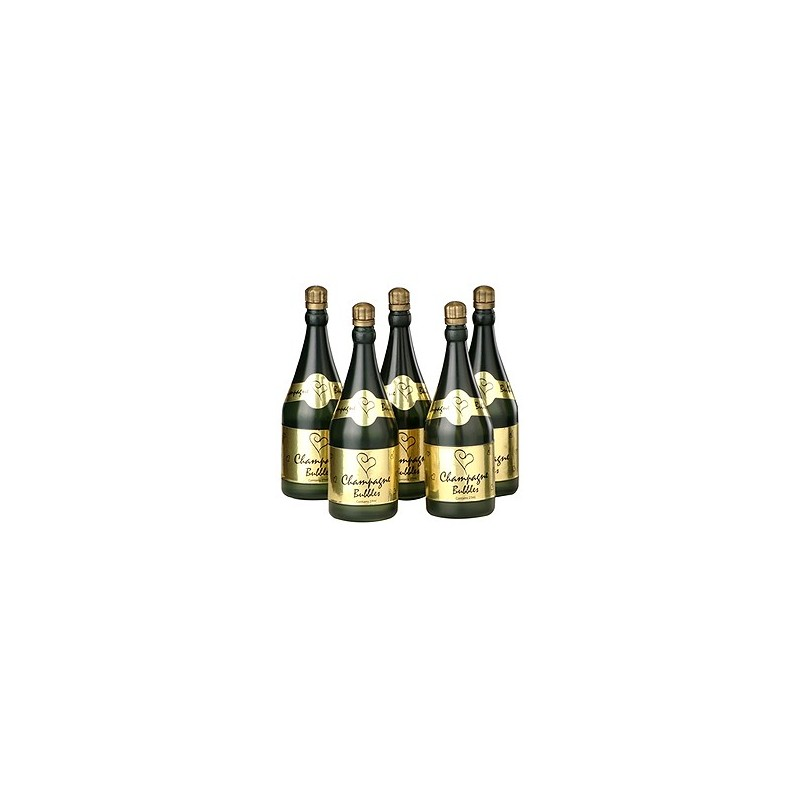 Bolha de Sabão Garrafinha de Champagne para Casamento 24un