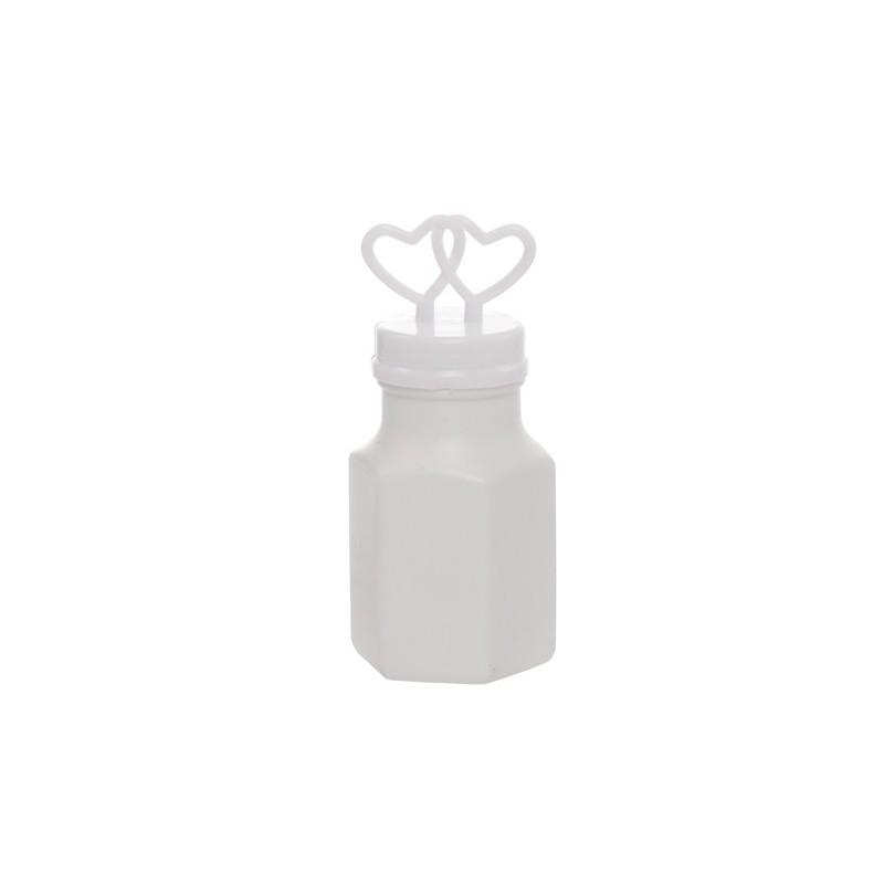 Bolha de Sabão para Casamento Corações Lembrancinha 24un