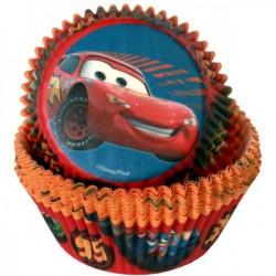 Forminhas para Cupcake Disney Carros Festa de Aniversário Meninos 50un