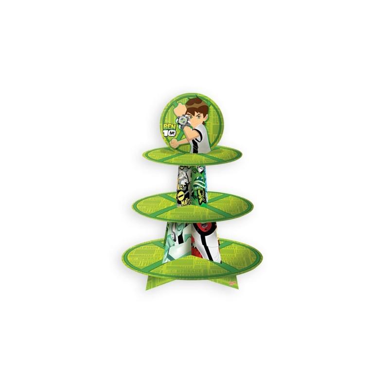 Suporte para Cupcake Ben 10 Festa Infantil Meninos