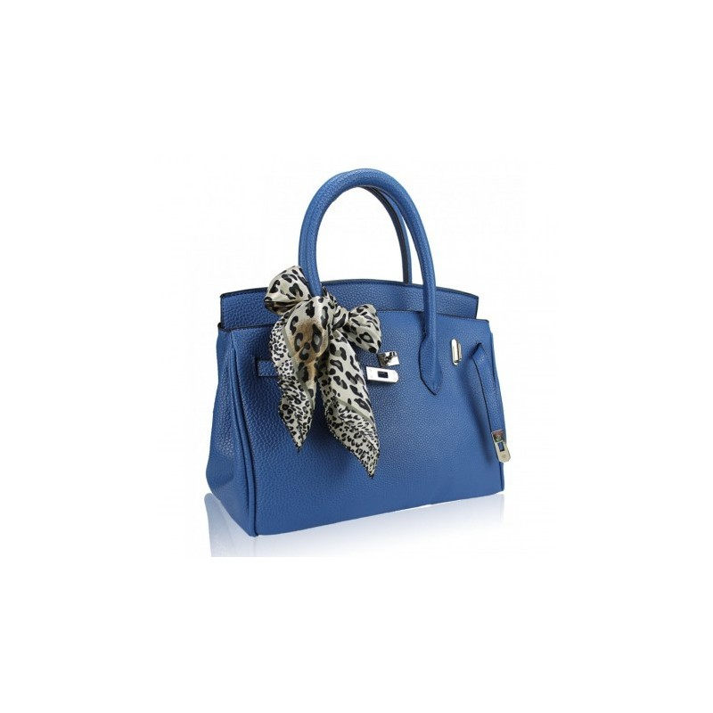 Bolsa Feminina Azul Clássica Tote