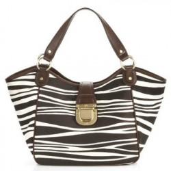 Bolsa Feminina Estampada Zebra Feminina