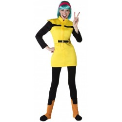 Fantasia Bulma Dragon Ball Z Adulto Feminina
