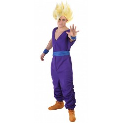 Fantasia Gohan Dragon Ball Z Adulto Masculina