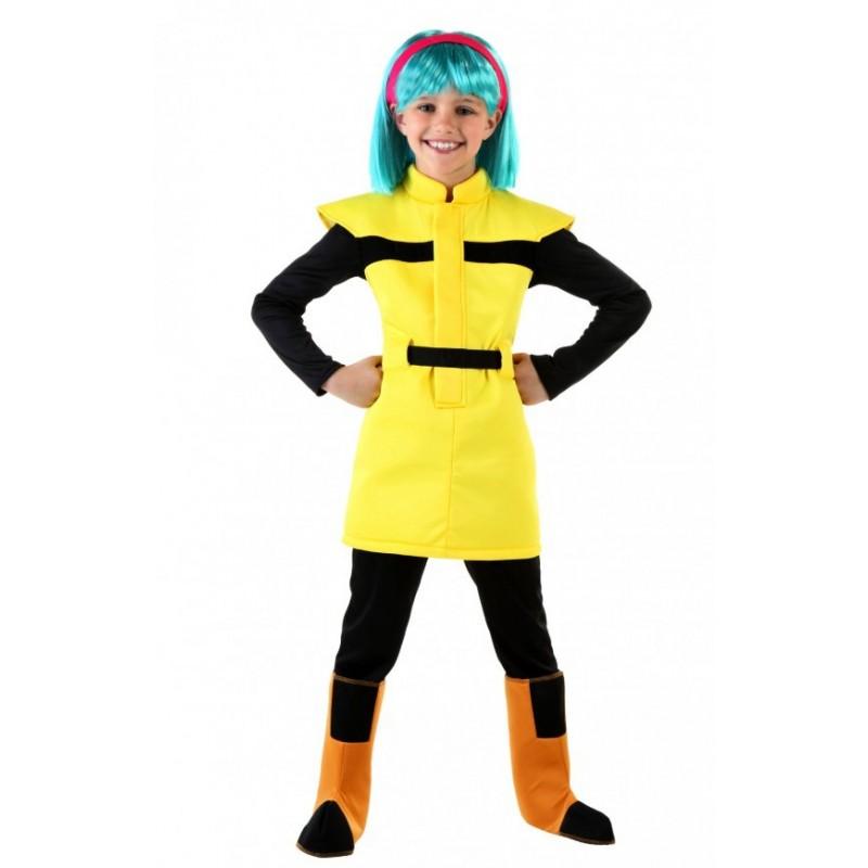 Fantasia Bulma Dragon Ball Z Infantil Meninas