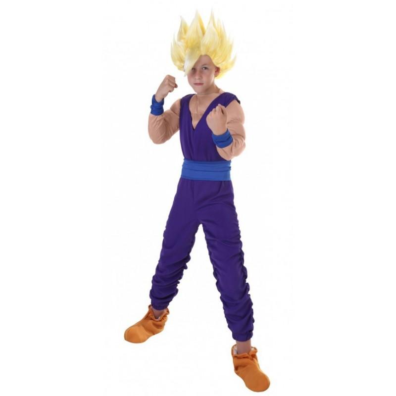 Fantasia Gohan Dragon Ball Z Infantil Meninos