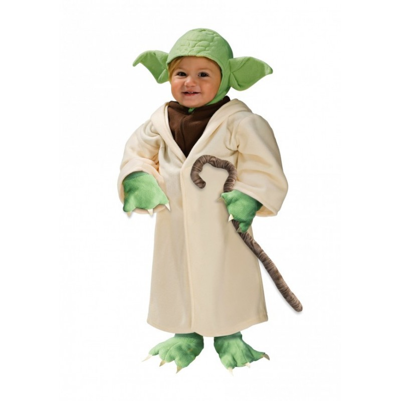 Fantasia Mestre Yoda Star Wars Infantil