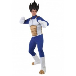 Fantasia Vegeta Dragon Ball Z Adulto Masculina