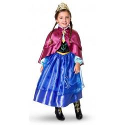 Fantasia Anna Frozen Infantil Meninas