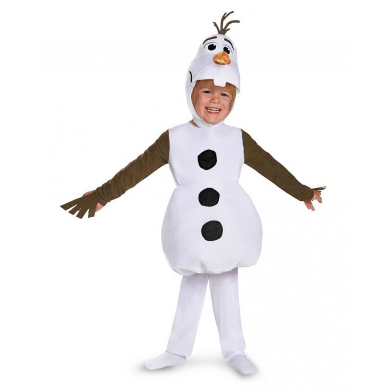 Fantasia Olaf Frozen Infantil Meninos e Meninas