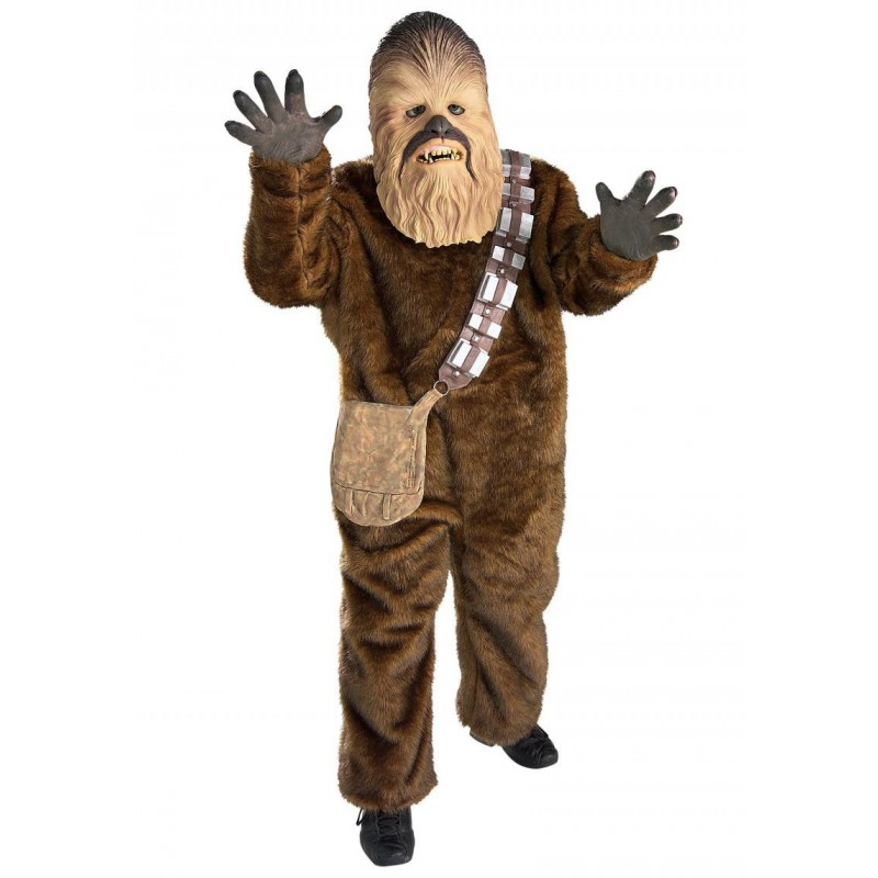 Fantasia Chewbacca Star Wars Masculina Adulto
