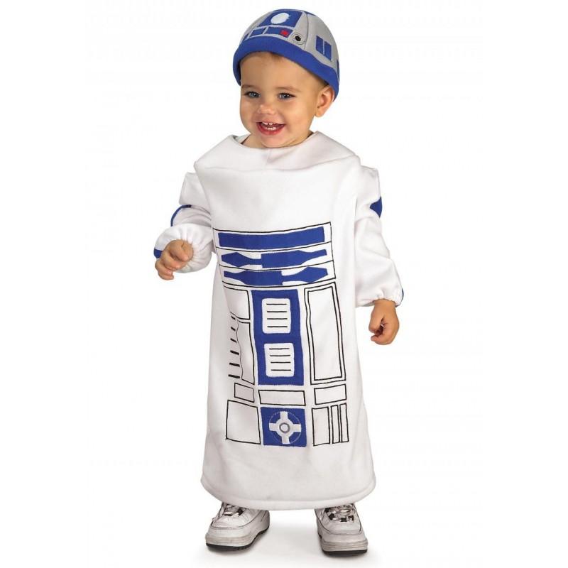 Fantasia R2D2 Star Wars Infantil Festa a Fantasia Halloween