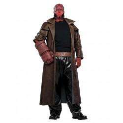 Fantasia Hellboy Masculina Halloween Festa a Fantasia