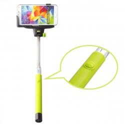 Bastão de Selfie Smartphone Iphone Galaxy Moto G Botão Embutido