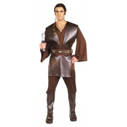 Fantasia Luxo Anakin Skywalker Masculina Cosplay Star Wars