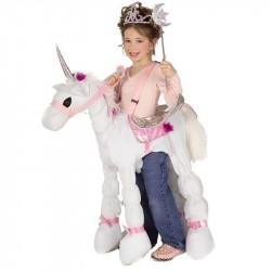 Fantasia Fada com Unicórnio Infantil Meninas Halloween