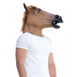 Fantasia Máscara Cabeça de Cavalo Adulto Halloween