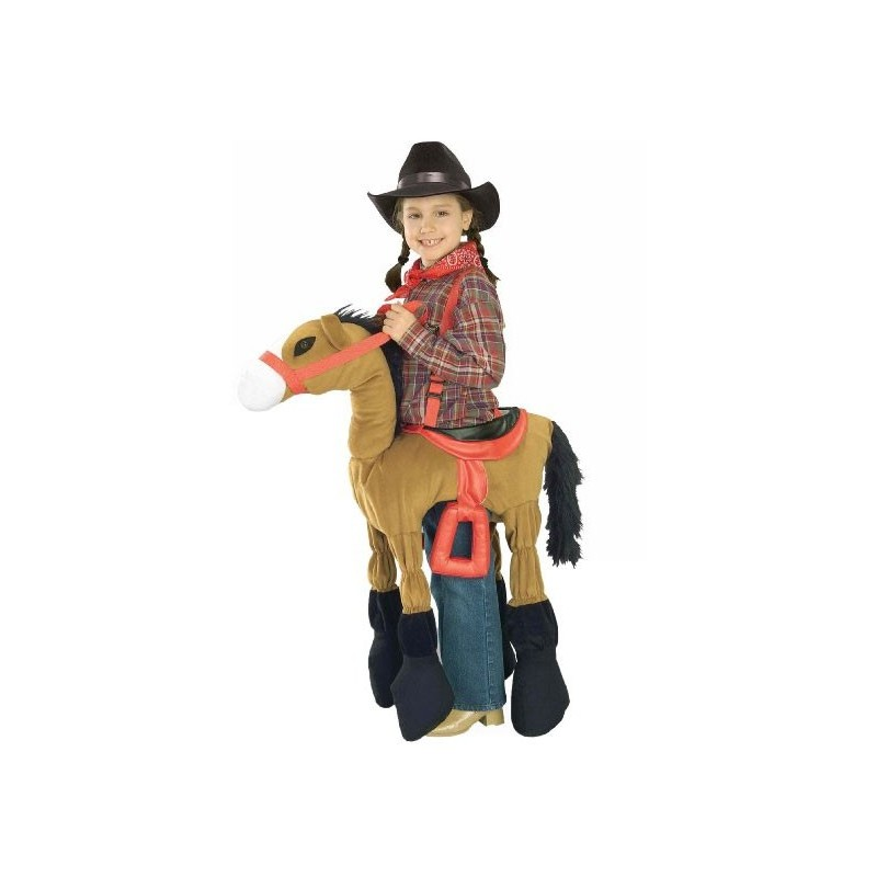 Fantasia Montada no Cavalo Infantil Halloween Country