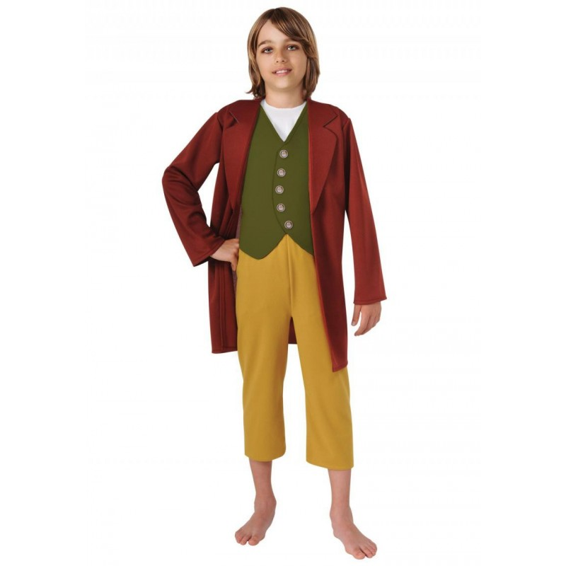 Fantasia Bilbo Bolseiro O Hobbit Infantil Meninos