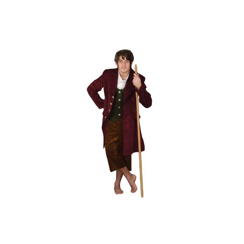 Fantasia Bilbo Bolseiro O Hobbit Masculina Adulto