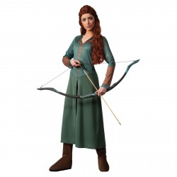 Fantasia Tauriel Elfa O Hobbit Feminino Cosplay