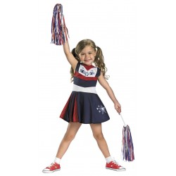 Fantasia Cheerleader Líder de Torcida Infantil Meninas