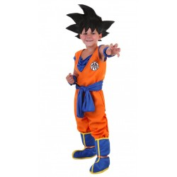 Fantasia Infantil Goku Dragon Ball Z Festa Halloween