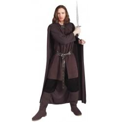 Fantasia Aragorn O Senhor dos Anéis Masculino Adulto Cosplay