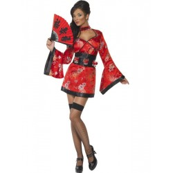 Fantasia Feminina Oriental Sexy Festa Halloween