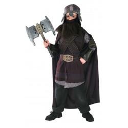 Fantasia Infantil Gimli O Senhor dos Anéis Cosplay