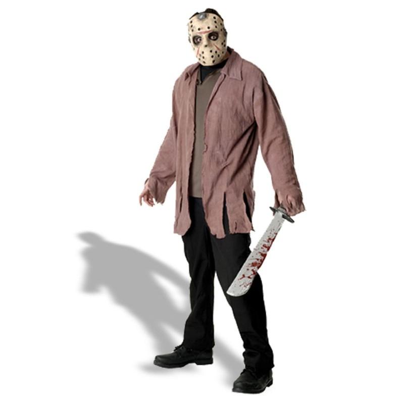 Fantasia Masculina Jason Sexta Feira 13 Festa Halloween