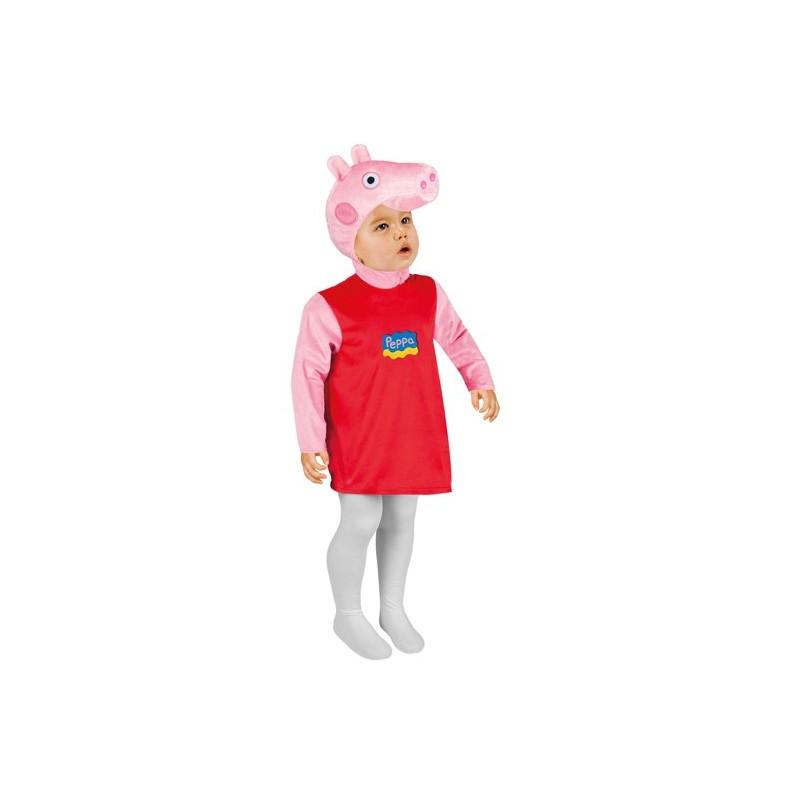 Fantasia Infantil Meninas Peppa Pig Festa
