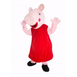Fantasia Adulto Peppa Pig Mascote Aniversários