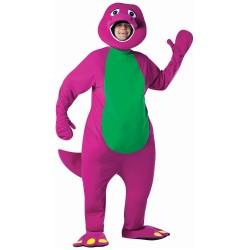 Fantasia Adulto Barney Unissex Carnaval Halloween