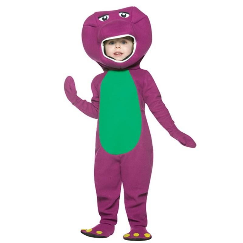 Fantasia Infantil Barney Carnaval Halloween Festa