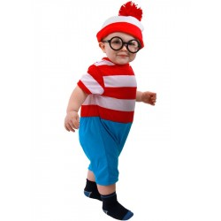 Fantasia Infantil Wally Onde Está o Wally Carnaval Halloween