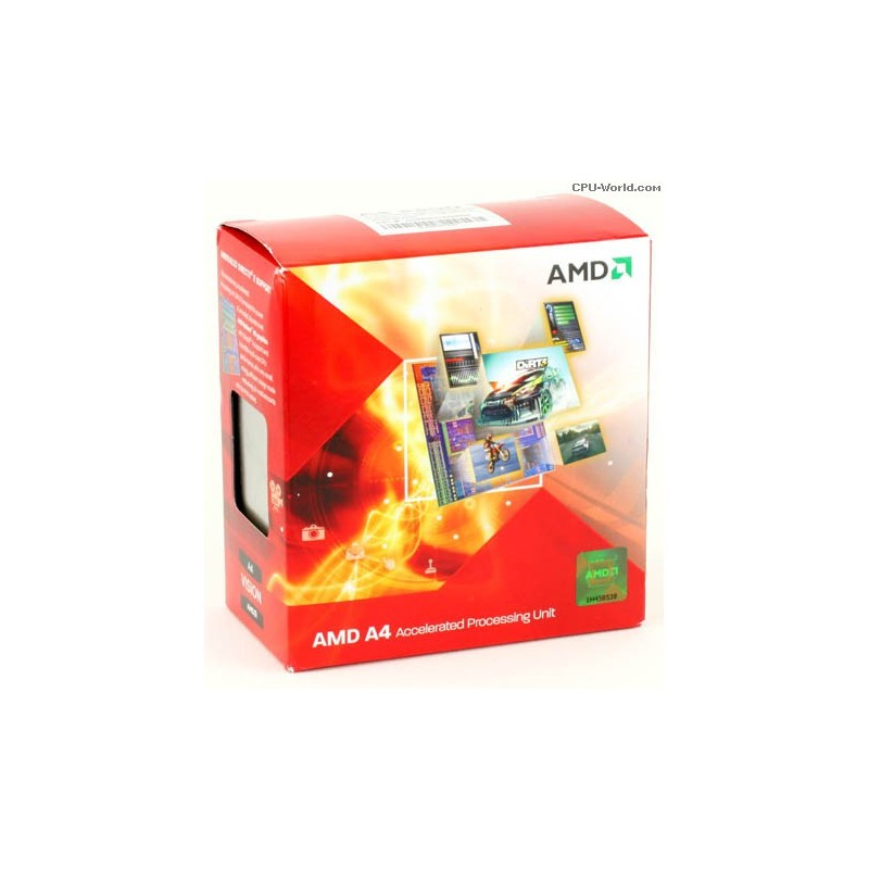Processador AMD A4-3300 socket FM1 2.5GHz Dual Core Gráfico Radeon HD Integrado