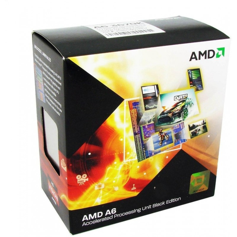 Processador AMD A6 Series A6-3670k Six Core 2.7GHz