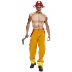 Fantasia Masculina Netuno Deus Romano do Mar Carnaval Halloween