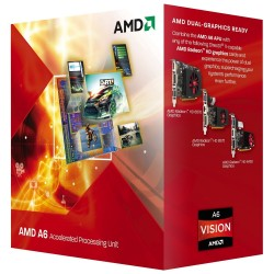 Processador AMD A6 Series A6-3500 Six Core 2.1GHz Socket FM1 Gráfico HD Integrado