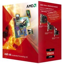 Processador AMD A6 Series A6-3500 Six Core 2.1GHz Socket FM1 Gráfico HD Integrado