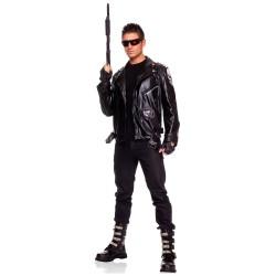 Fantasia Masculina Exterminador do Futuro para Carnaval ou Halloween