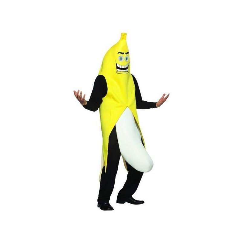 Fantasia Adulto Banana para Carnaval ou Halloween