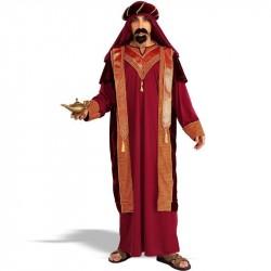 Fantasia Masculina Sultão Árabe Carnaval Halloween