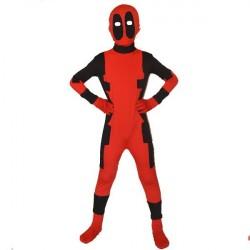 Fantasia Infantil Meninos Deadpool Halloween Festa a Fantasia