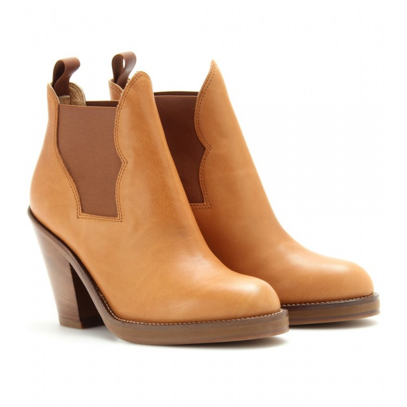 Unkle Boot Feminina Country Salto 10cm Caramelo