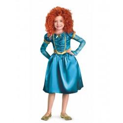 Fantasia Infantil Meninas Merida Valente Disney