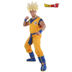 Fantasia Masculina Goku Super Saiyajin Carnaval Halloween